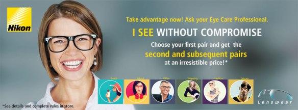Nikon lens promotion